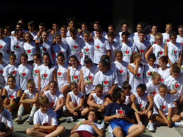 I nostri volley camp